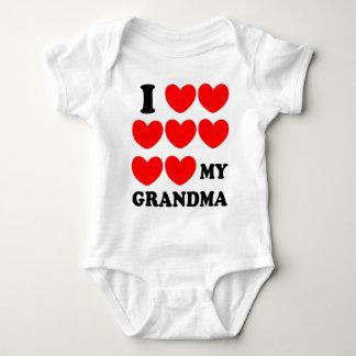 I Liebe meine Großmutter Baby Strampler