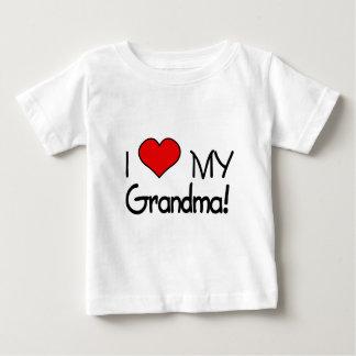 I Liebe meine Großmutter! Baby T-shirt