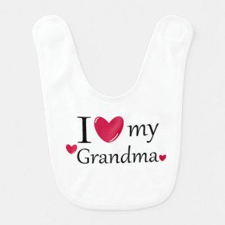 I Liebe meine Großmutter Lätzchen