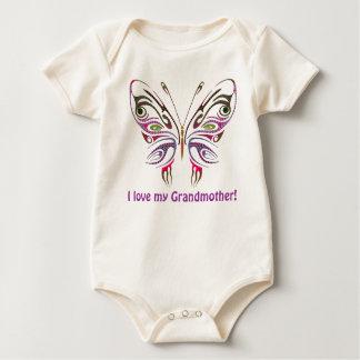 I Liebe meine Großmutter personalisiert Baby Strampler