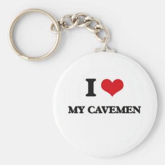 I Liebe meine Höhlenbewohner Schlüsselanhänger