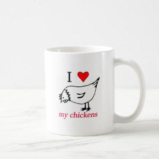 I Liebe meine Hühner Teehaferl