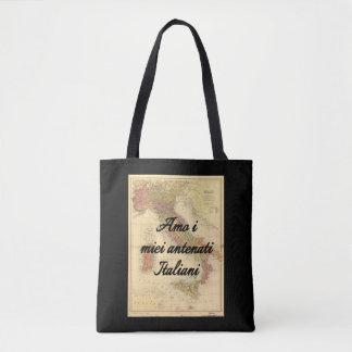 I Liebe meine italienische kundenspezifische Tasche
