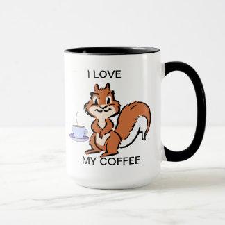I LIEBE MEINE KAFFEE-TASSE TASSE