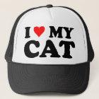 I Liebe meine Katze Truckerkappe