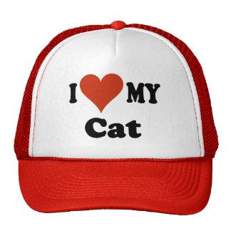 I Liebe meine Katzen-Baseballmütze - Hut Retrokult Cap