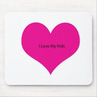 I Liebe meine Kinder Mousepad