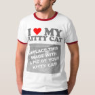I Liebe meine Kitty-Katze T-Shirt