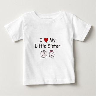 I Liebe meine kleine Schwester! Baby T-shirt