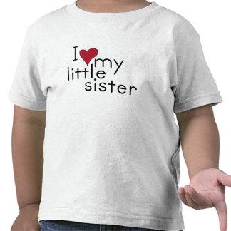 I Liebe meine kleine Schwester Tshirts