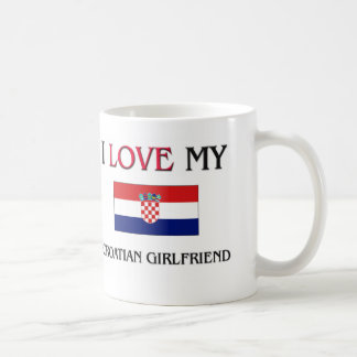 I Liebe meine kroatische Freundin Kaffeetasse