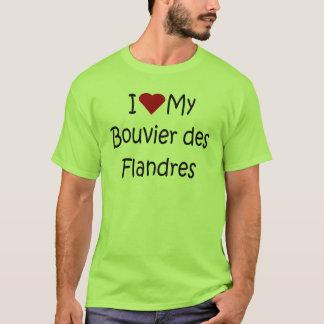 I Liebe meine Liebhaber-Geschenke Bouvier DES T-Shirt