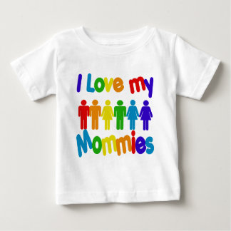 I Liebe meine Mamas Baby T-shirt