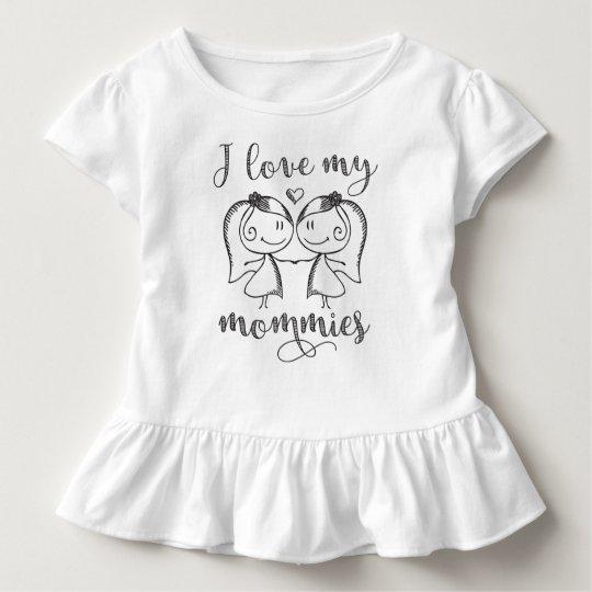 I Liebe meine Mamas Kleinkind T-shirt