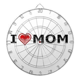I Liebe meine Mamma Dartscheibe