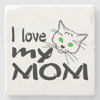 I Liebe meine Mamma Steinuntersetzer
