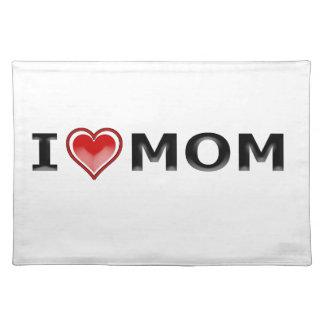 I Liebe meine Mamma Stofftischset