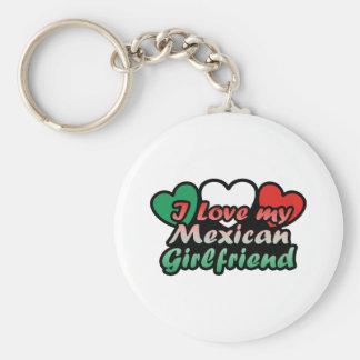 I Liebe meine mexikanische Freundin Schlüsselanhänger