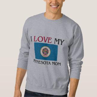 I Liebe meine Minnesota-Mamma Sweatshirt
