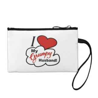 I Liebe meine mürrische Ehemann-Schlüssel-Münzen-H