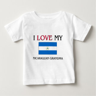 I Liebe meine Nicaraguagroßmutter Baby T-shirt