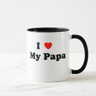 I Liebe meine Papa-Tasse Tasse