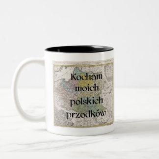 I Liebe meine polnische kundenspezifische Tasse