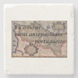 I Liebe meine portugiesischen Steinuntersetzer
