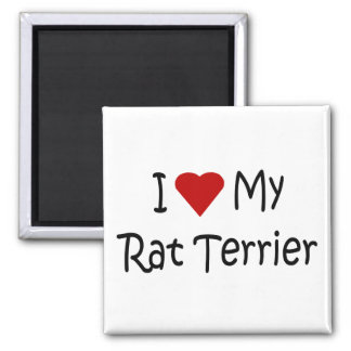 I Liebe meine Quadratischer Magnet