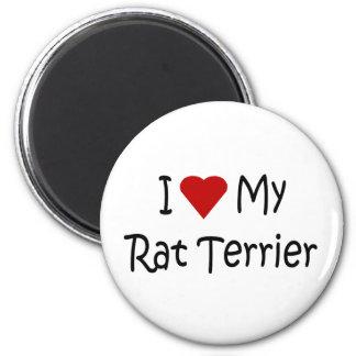 I Liebe meine Runder Magnet 5,1 Cm