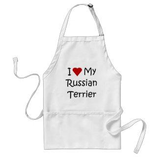 I Liebe meine russischen Schürze