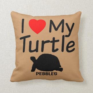 I Liebe meine Schildkröte Kissen