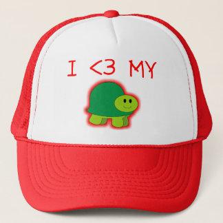 I Liebe meine Schildkröte Truckerkappe