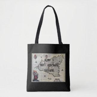 I Liebe meine sizilianische kundenspezifische Tasche