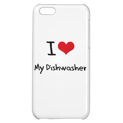 I Liebe meine Spülmaschine Hüllen Für iPhone 5C
