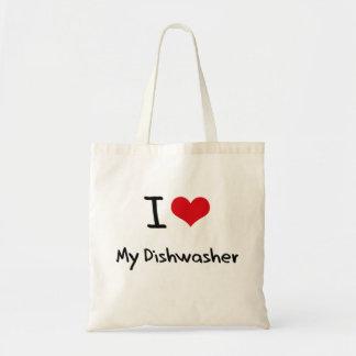 I Liebe meine Spülmaschine Taschen