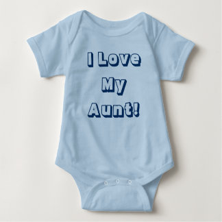 I Liebe meine Tante! Einteiliges Shirt mit