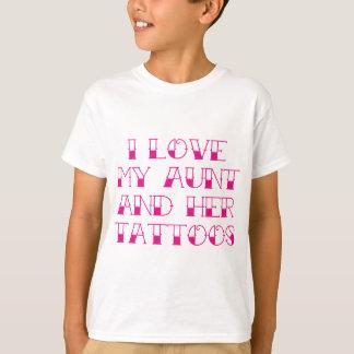 I Liebe meine Tante und ihre Tätowierungen T-Shirt