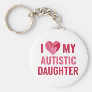 I Liebe meine Tochter Schlüsselanhänger