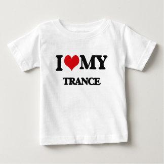 I Liebe meine TRANCE Baby T-shirt