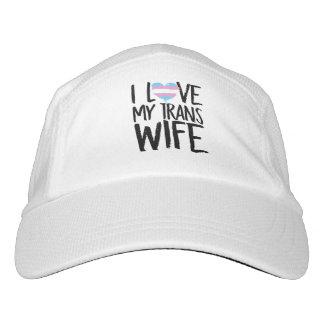 I Liebe meine Transport-Ehefrau Headsweats Kappe