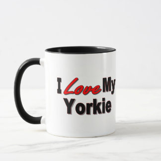 I Liebe meine Yorkie Hundegeschenke und -kleid Tasse