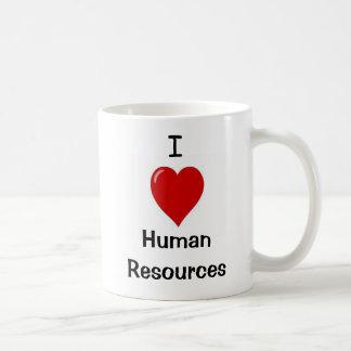 I Liebe-menschliche Betriebsmittel - Doppeltes Kaffeetasse
