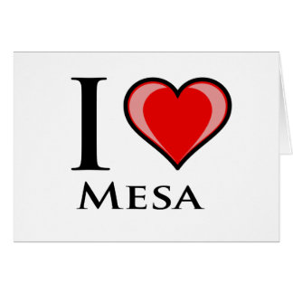 I Liebe-MESA Karte