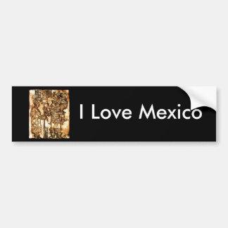 I Liebe Mexiko Autoaufkleber