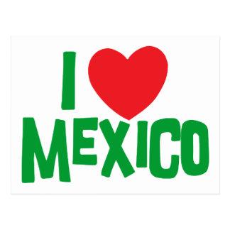 I Liebe Mexiko Postkarte