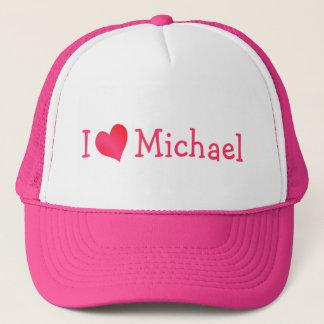 I Liebe-Michael-Hut Truckerkappe