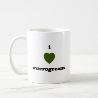 I Liebe Microgreens Tasse