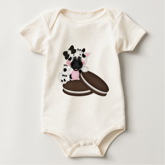 I Liebe-Milch-Kuh Baby Strampler