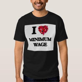 I Liebe-Mindestlohn Hemden